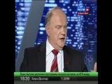 Выборы 2012.Дебаты. Жириновский Зюганов 09.02.2012.24 канал